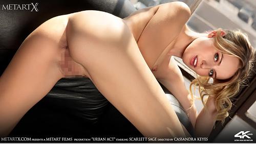 MetArt X - Scarlett Sage - URBAN ACT