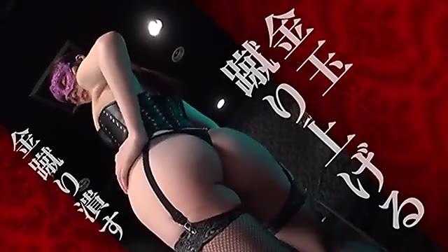 松島ナミ M性感風俗店で働く大学院生の女王様がM男に無慈悲な金蹴り