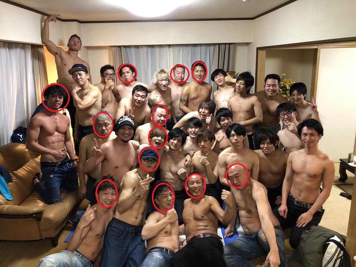 2019令和元年男優忘年会集合写真003