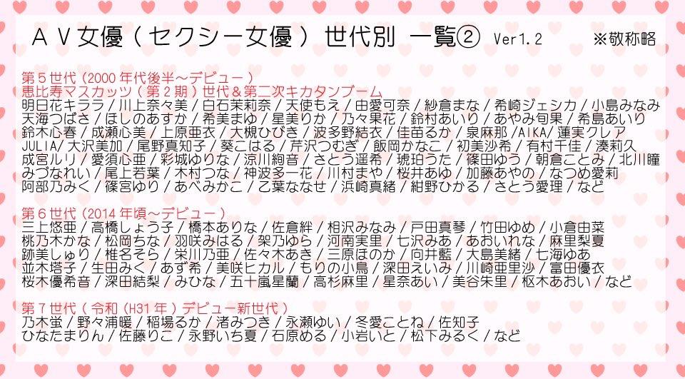 AV女優002