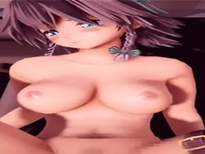 【3Dエロアニメ】 東方の十六夜咲夜とマットの上で中出しセックス【MMD】