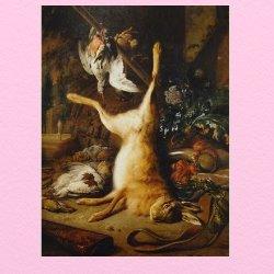 ヤンウェーニクスの野ウサギと狩りの獲物