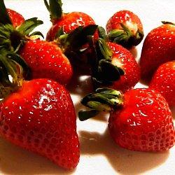 綺麗なイチゴの写真