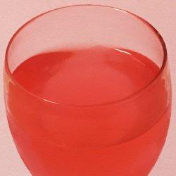 ピンクのドリンク