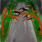 怖い緑道ミニ