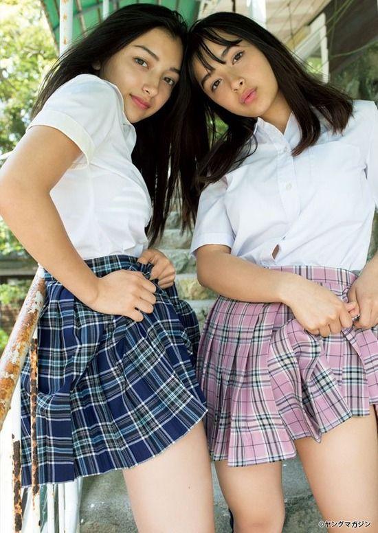 今話題のハーフJK姉妹エリカ&マリナちゃんが可愛い!【画像10枚】07_20181010215212afe.jpg