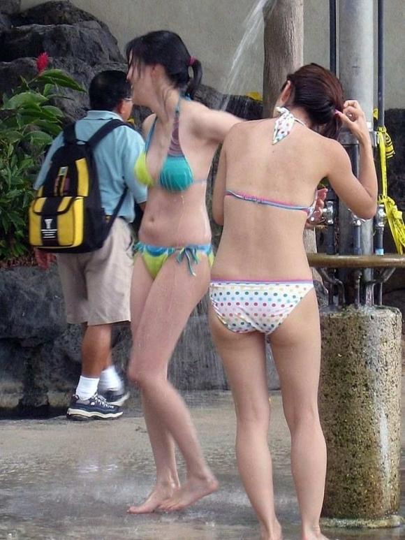 【おっぱい】ちっぱい持ちの貧乳女が水着でいるとこをがくっそエロくて即写メ案件wwwwwww【画像30枚】11_201908220052562f2.jpg