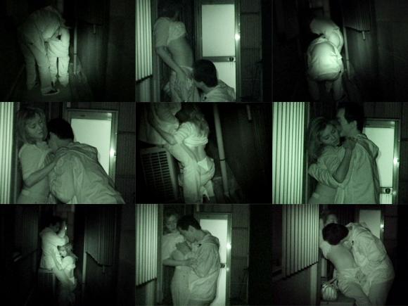 【野外露出】赤外線だから見れるカップルの野外セックスが激しすぎるwwwwwww【画像30枚】14_20191022222947774.jpg