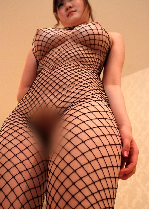 【エロ方程式】裸+網タイツ=エロすぎて保存不可避レベルだわwwwwwww【画像30枚】25_20190922142405a48.jpg
