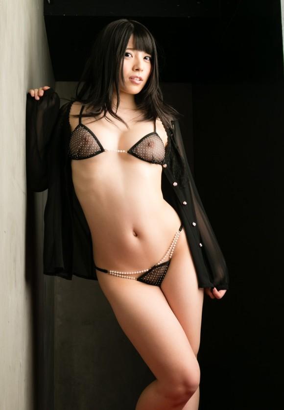 黒いランジェリーを着てる女の子がセクシーすぎる!【画像30枚】26_20190630151412c6b.jpg