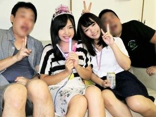 [NTR] 親友の彼女とハメ撮り カノ友も混じってパコパコ Birthday ふたりとも神乳です