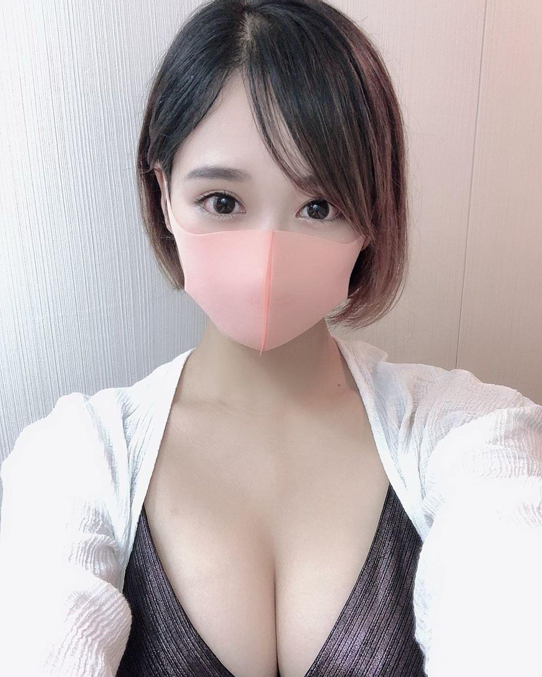 マスク女子 5
