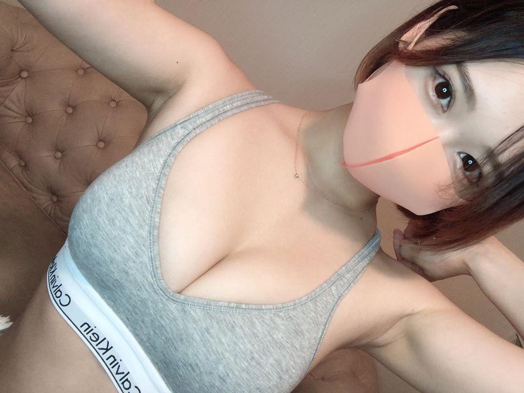 マスク女子 4