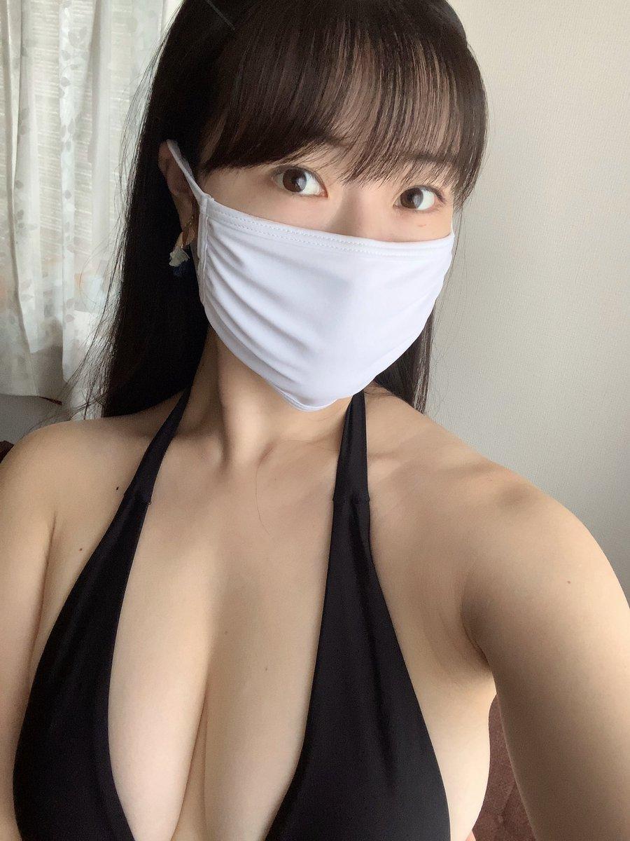 マスク女子 1