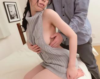 セックスレス気味の巨乳妻がスケベな洋服で若い男を誘惑、不倫中出しセックス!