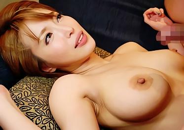 ショートカットヘアー、Hカップ巨乳クビレボディの激カワお姉さんが何発も射精をオネダリする濃厚ベロキスセックス!