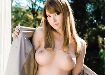 ★ティア★激カワ巨乳のハーフ痴女が街角で見つけた男性を誘惑、車内に招いてパコパコセックス!!