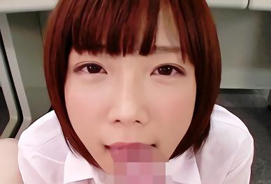 ★紗倉まな★アナタのことが好きすぎる、ショートカット激カワ美少女OLの主観バキュームフェラチオご奉仕!