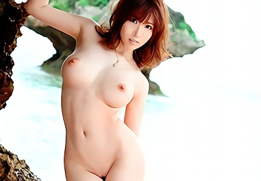 ★朱音ゆい★超絶カワイイ、巨乳スレンダーのお姉さんが青空の下でチンポにしゃぶりつく濃密野外セックス!!