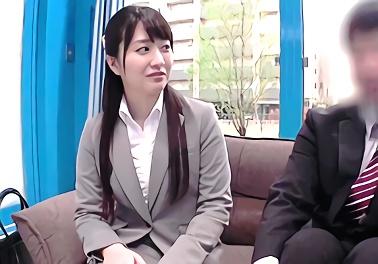 ★マジックミラー号★同じ会社に勤めている男女がスケベ企画に挑戦! お互いに火がついてしまい激ピストン濃密セックス!!