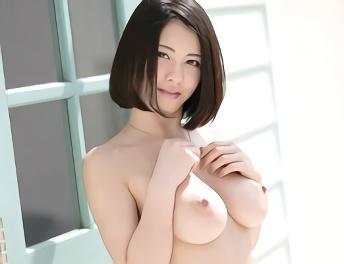 ★松岡ちな★色白Hカップ巨乳の超絶カワイイ美少女の膣奥を激ピストンで突かれまくる濃密セックス!!