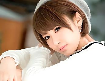★桐山美琴★アイドル活動をしているという、ショートカット激カワ美少女がAV出演! 男優チンポでアンアン喘ぎまくり!!