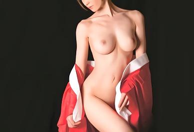 ★林ゆな★Fカップ巨乳のスレンダー人妻(熟女)が極上の癒やしを提供してくれる料亭、男性客の肉棒にしゃぶりつくバキュームフェラ抜き!
