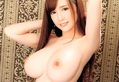 ★すみれ美香★Iカップ巨乳スレンダーボディの激カワお姉さんがAV出演、男優のピストン運動でおっぱいが揺れまくる濃密セックス!