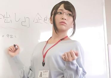 ★加藤ももか★メガネが似合う、超絶カワイイ美乳スレンダー美少女OLが人生始めての生チンポを挿入される濃密セックス!!