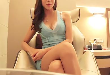 ★早川瀬里奈★巨乳スレンダーの激カワお姉さんが中年オヤジと旅行! ホテルの一室で濃密ハメ撮りセックス!!
