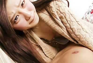 【堀口真希】身長148cmの激カワ美少女の大きな桃尻を見ながら激ピストン、膣奥を突きまくる濃密セックス!!