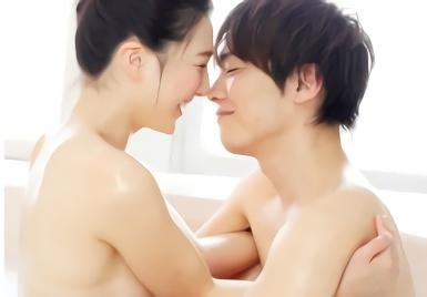 【古川いおり】清楚系の黒髪お姉さんとイケメン男性が魅せる、愛のある恋愛的イチャラブセックス!!