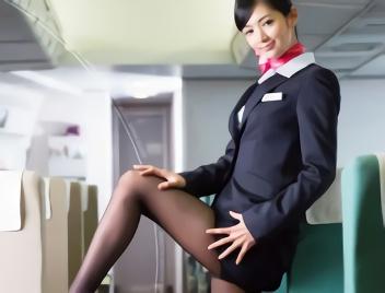 【麻生希】長身スレンダーで美脚、激カワお姉さんの客室乗務員は欲求不満!客の男性を誘惑してホテルに連れ込み濃密セックス!!