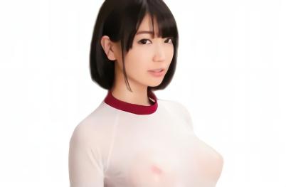 【鈴木心春】超絶カワイイ巨乳美少女JKが透けたピンク色の乳首で男たちを誘惑しまくる!!