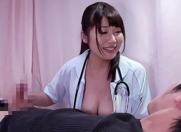【企画】むちむち巨乳の激カワナースさんに早漏について相談してみた結果・・・治療と称してチンポに跨り腰を振りまくる濃密セックス!!
