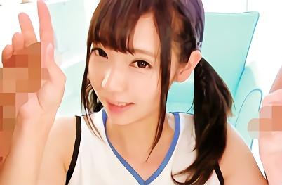 【あけみみう】清楚系8頭身のモデル体型、激カワ美少女がチアガールコスプレをしての濃厚中出しセックス!!