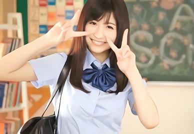 【桜空もも】Gカップ巨乳の超絶カワイイ美少女JKがクラスメイトの男子を誘惑!保健室でアンアン感じまくる濃厚3Pセックス!!