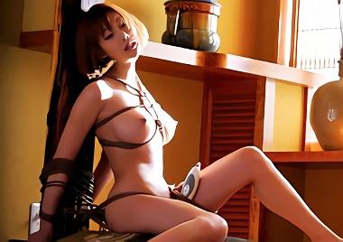 【明日花キララ】超絶カワイイ巨乳お嬢様を鬼畜男たちに拉致監禁されて緊縛調教、犯されていくうちに従順なメス犬へと堕ちていく