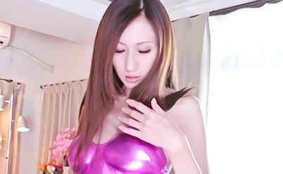 【JULIA】Jカップ爆乳スレンダーの激カワお姉さんがボディコン衣装でチンポをぶち込まれる激ピストンセックス、フィニッシュは極狭パイズリ射精!!