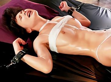 【坂道みる】超絶カワイイ巨乳美少女の性欲覚醒!全身ぬるテカオイルまみれで絶叫アクメ、激ピストンをオネダリする濃密セックス!!