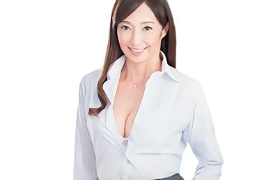 【音羽文子】美熟女の人妻教師が教え子の生徒を誘惑、トイレに連れ込んで若い肉棒に貪りつく濃密セックス!!