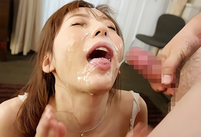 【麻美ゆま】超絶カワイイ爆乳お姉さんの美顔が特濃ザーメンまみれになる連続ぶっかけの激ピストン濃密セックス!!
