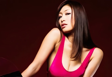 【小早川怜子】キャンペンガールをしている巨乳美熟女が仕事着のハイレグレオタード衣装で膣奥を突き上げられる濃厚ハメ撮りセックス!!