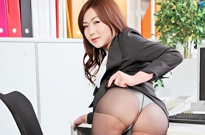【加納綾子】若手社員の教育を任せられている美熟女OLは淫乱痴女!若い部下のチンポで喘ぎ狂い絶頂する濃密セックス!!