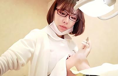 【深田えいみ】超絶カワイイ巨乳スレンダー美少女が在籍する歯科医院、施術の一環と称して搾乳手コキ抜きご奉仕!!
