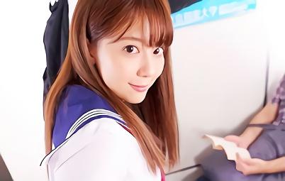 【岬ななみ】超絶カワイイ美少女が様々なシチュエーションで男たちを魅了するフェチ映像!JKの甘い誘惑・・・主観手コキ抜き!!