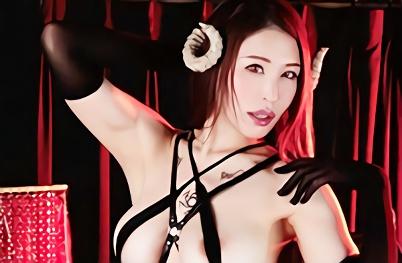 【凛音とうか】超絶カワイイ巨乳痴女サキュバスが中年オヤジを襲撃、朝から晩までチンポをシゴきまくり精子を搾り取る!!