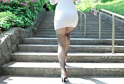 【みつ葉】ショートカットヘアーの激カワ巨乳美少女が男の本能を刺激するランジェリー衣装で濃厚ハメ撮りセックス!!