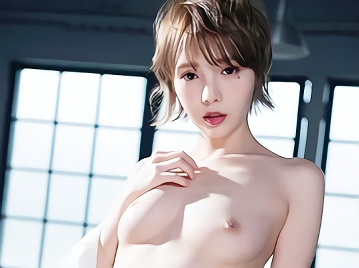 【広瀬りおな】ショートカット美乳スレンダーの超絶カワイイ美少女がメスの本能を剥き出しで肉棒を咥え込み腰を振りまくる濃密汗だくセックス!!