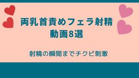 両乳首責めフェラ動画8選